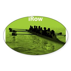 iRow Rectangle Sticker (Oval)