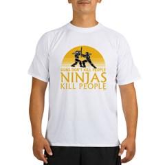 ninja4a-black Performance Dry T-Shirt
