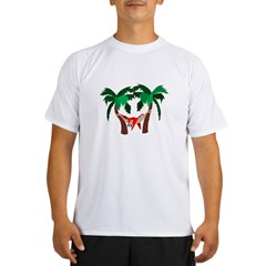 Macaw in Palms Performance Dry T-Shirt
