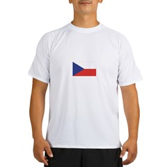 Czech Republic / Czech Flag Performance Dry T-Shirt