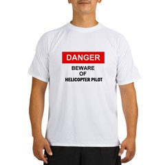 Beware/ Go Vertical Helicopter Ash Grey Performance Dry T-Shirt
