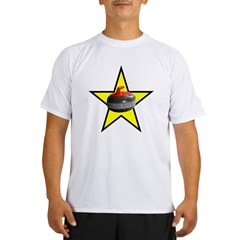 Rock Star Ash Grey Performance Dry T-Shirt