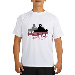 Kart Racing Ash Grey Performance Dry T-Shirt