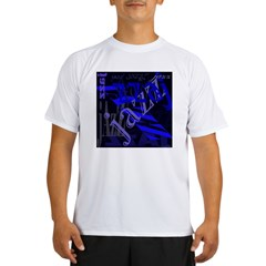 Jazz Blue on Blue Performance Dry T-Shirt