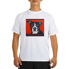 Pit Bulls Rock Performance Dry T-Shirt