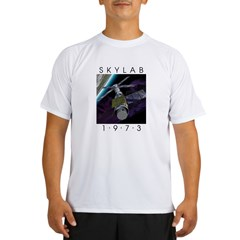 Shrox Space Art Skylab Performance Dry T-Shirt