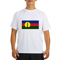 Flag New Caledonia Performance Dry T-Shirt