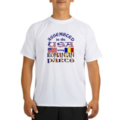 USA/Romanian Parts Performance Dry T-Shirt