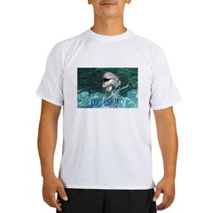 dolphin-keep smiling.jpg Performance Dry T-Shirt