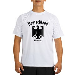 Black/White Performance Dry T-Shirt