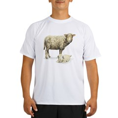 Sheep and Lam Performance Dry T-Shirt