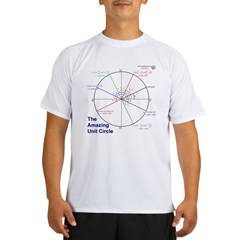 Amazing Unit Circle Light Color Performance Dry T-Shirt