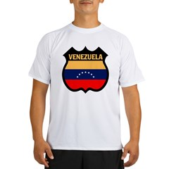 Venezuela Ash Grey Performance Dry T-Shirt