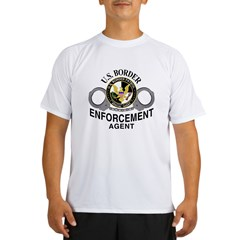 U.S. BORDER PATROL: Performance Dry T-Shirt