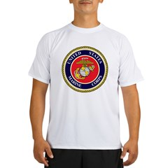 Marine Emblem Performance Dry T-Shirt