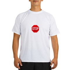 Stop Landyn Ash Grey Performance Dry T-Shirt