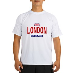 London England Ash Grey Performance Dry T-Shirt