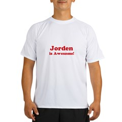 Jorden is Awesome Ash Grey Performance Dry T-Shirt