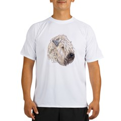 Soft Coated Wheaten terrier Ash Grey Performance Dry T-Shirt