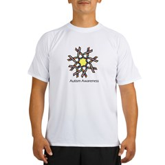 ribbonflower.jpg Performance Dry T-Shirt