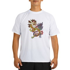 dragon10Black Performance Dry T-Shirt