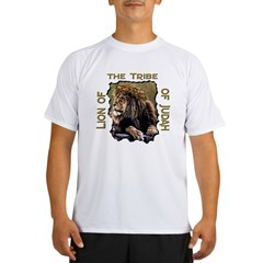 Lion of Judah 11 Ash Grey Performance Dry T-Shirt
