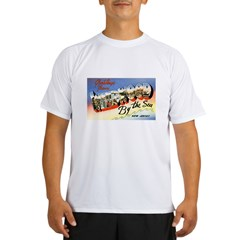 Wildwood New Jersey Greetings Performance Dry T-Shirt