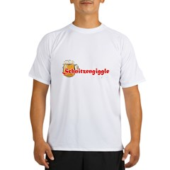 schnitzengiggle-black Performance Dry T-Shirt