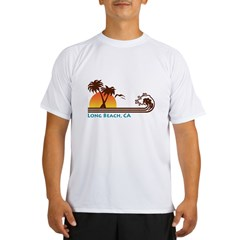 Long Beach California Performance Dry T-Shirt