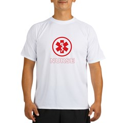 NURSE RED Performance Dry T-Shirt