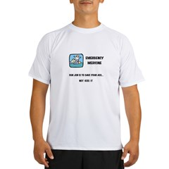 Emergency Medicine Performance Dry T-Shirt