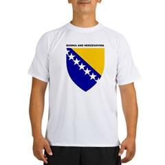 Bosnia_and_Herzegovina Performance Dry T-Shirt