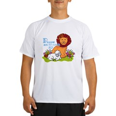 Lion & Lamb Peace On Earth Performance Dry T-Shirt