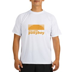 """Stay Gold Ponyboy"" [The Outs Performance Dry T-Shirt"