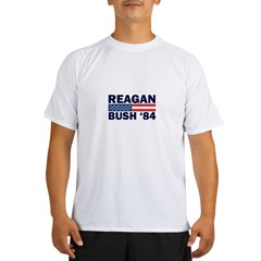 Reagan - Bush 84 Performance Dry T-Shirt