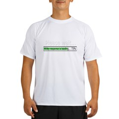 please-wait Performance Dry T-Shirt
