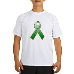 Cerebral Palsy Ribbon Performance Dry T-Shirt