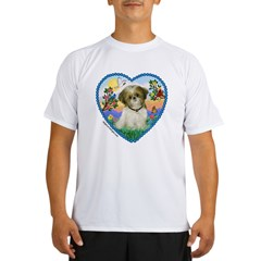 Shih Tzu in my heart (P) Performance Dry T-Shirt