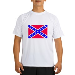 Rebel Flag Performance Dry T-Shirt