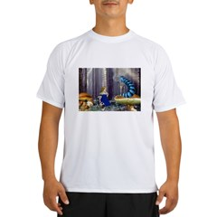Who Are You? (Blue Caterpillar) Performance Dry T-Shirt