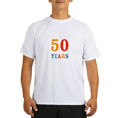 50 Years! Performance Dry T-Shirt