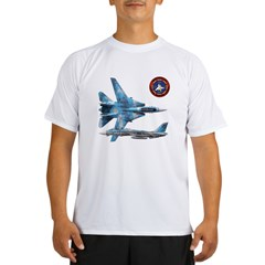 US Navy Fighter Weapons Schoo Performance Dry T-Shirt