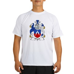 Wyatt Family Crest Performance Dry T-Shirt