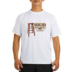 Solid Stool Performance Dry T-Shirt