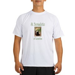 St. Bernadette of Lourdes Performance Dry T-Shirt
