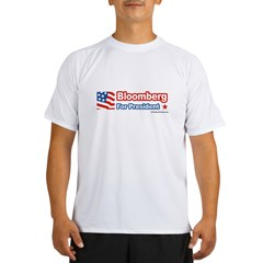 Bloomberg for Presiden Performance Dry T-Shirt