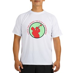 Life's Too Short Trumpe Performance Dry T-Shirt