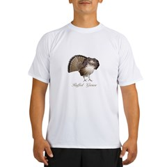 Strutting Grouse Performance Dry T-Shirt