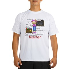 Anatomy of a Teacher Performance Dry T-Shirt