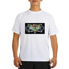 Breezy Point (Black) Performance Dry T-Shirt